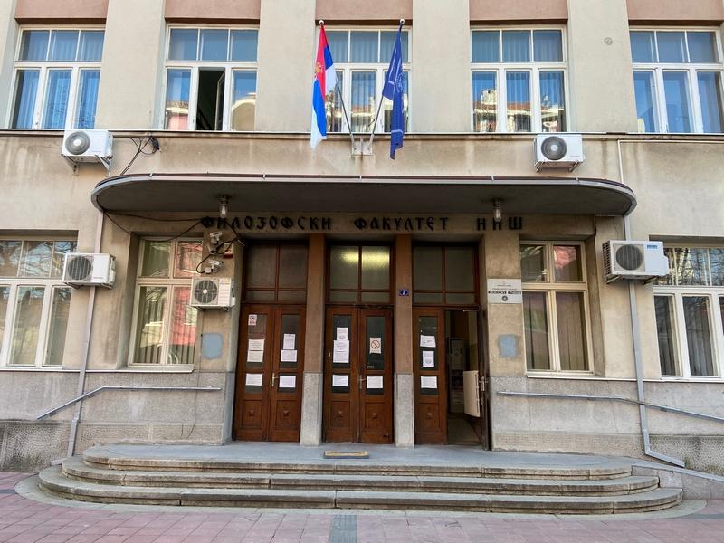 U petak vakcinacija studenata na Filozofskom fakultetu u Nišu