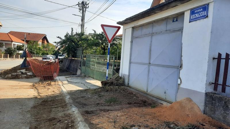 Kosmajska ulica u Leskovcu dobija novu vodovodnu mrežu za dva meseca