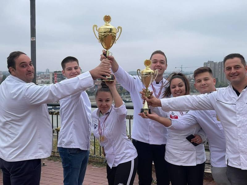 Leskovački mladi kuvari sa 19 medalja pobednici na Gastro kupu Srbije