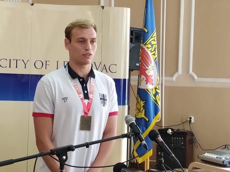Nemanja Stanojević: Biti šampion sveta je neverovatan osećaj (video)