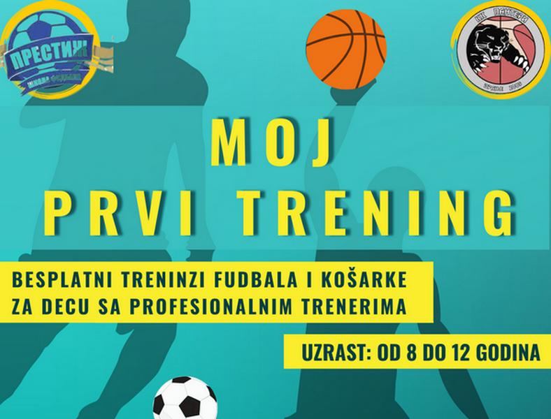 Besplatni treninzi fudbala i košarke za decu od 8 do 12 godina