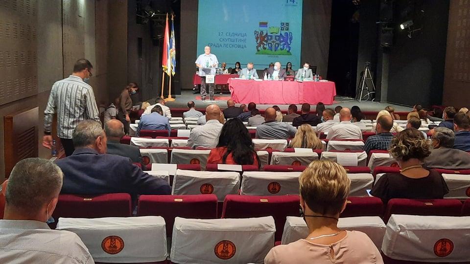 Leskovac: Prekinuta sednica Skupštine zbog opozicionog odbornika
