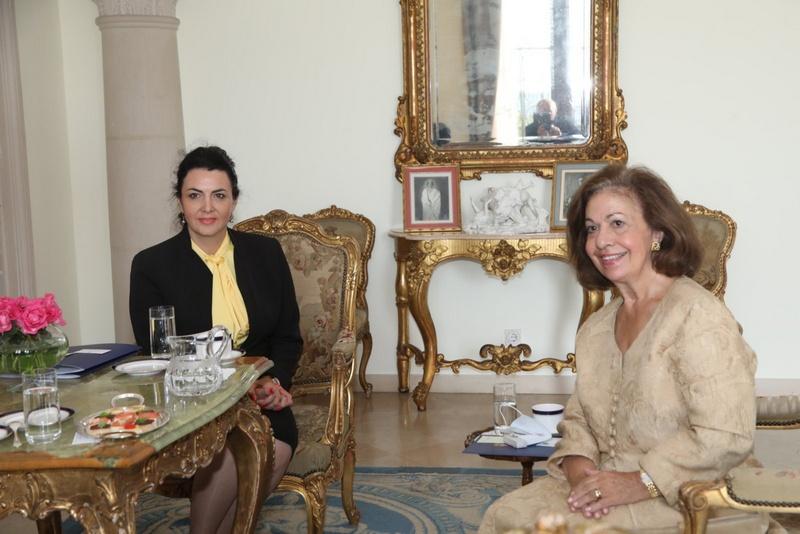 Gradonačelnica Sotirovski razgovarala u Belom dvoru s princezom Katarinom