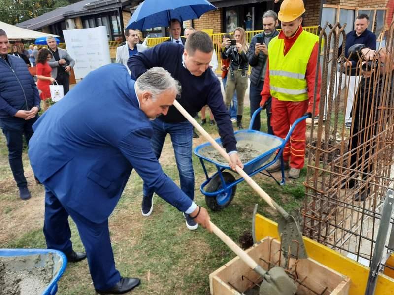 Položen kamen temeljac za izgradnju novog vrtića u Merošini