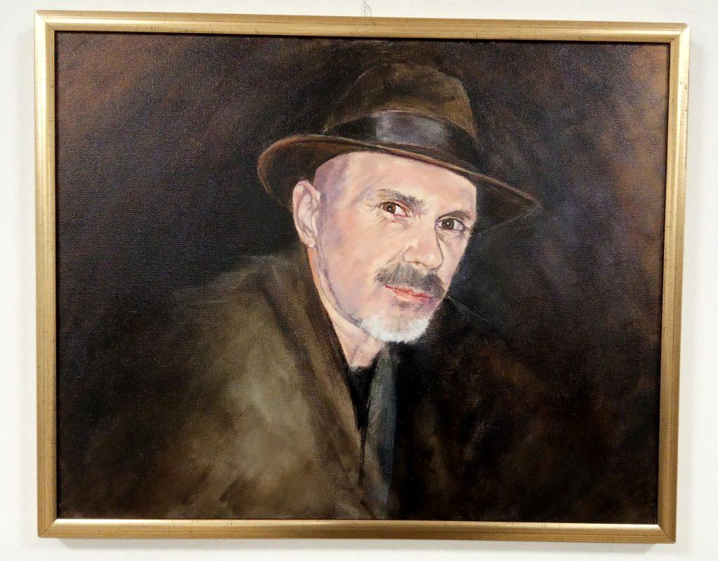 Na 38. Likovnom salonu Srđan Miloš posthumno dobio portret