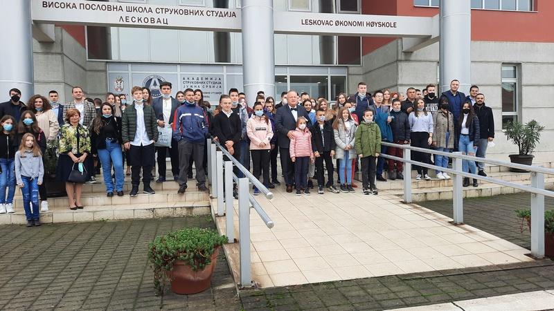 Grad Leskovac ponosan na svoje mlade talente, mladi ponosni na svoj grad