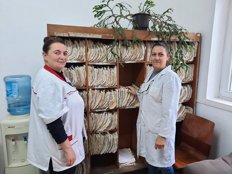 Kako su dve medicinske sestre za meštane sela postale poljaničke heroine u belim mantilima
