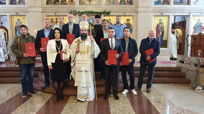 Nišu uručeno najviše priznanje episkopije  Orden Svetog Romana Đuniškog