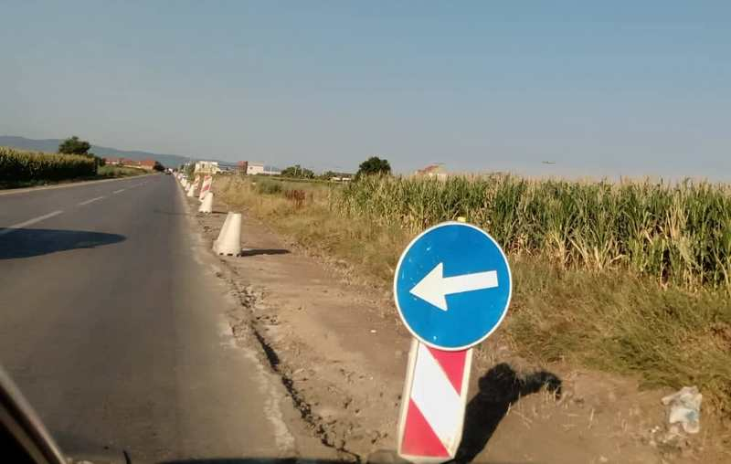 Izmena režima saobraćaja na putu Leskovac-Bošnjace