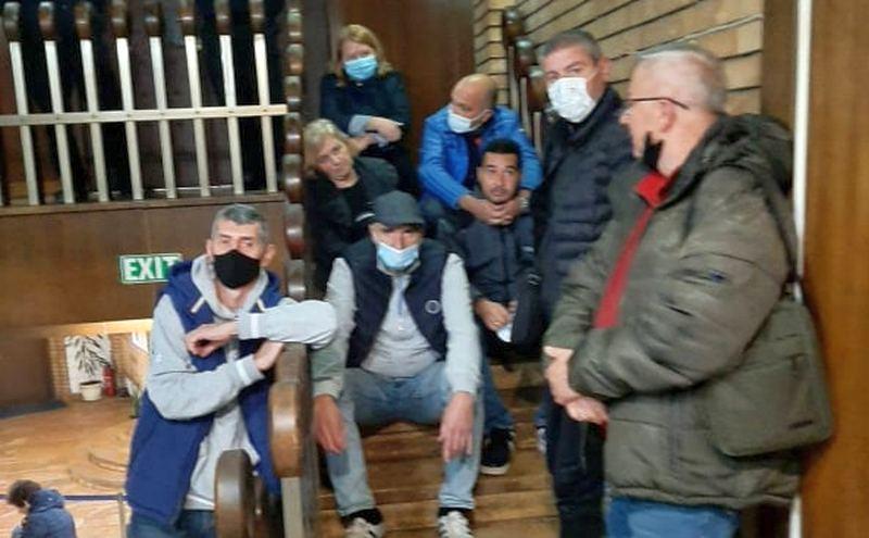 """Radnici Sportskog saveza: Nećemo odustati od svojih prava pa """"kom opanci, kom obojci"""""""