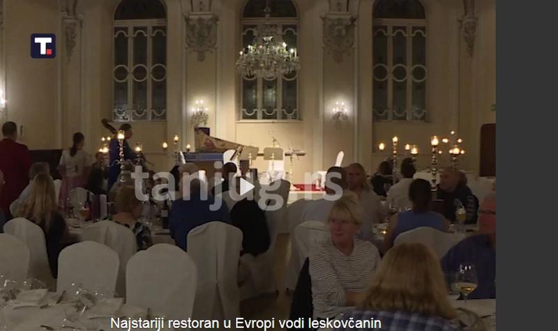 Najstariji restoran u Evropi impresivne istorije vodi Leskovčanin