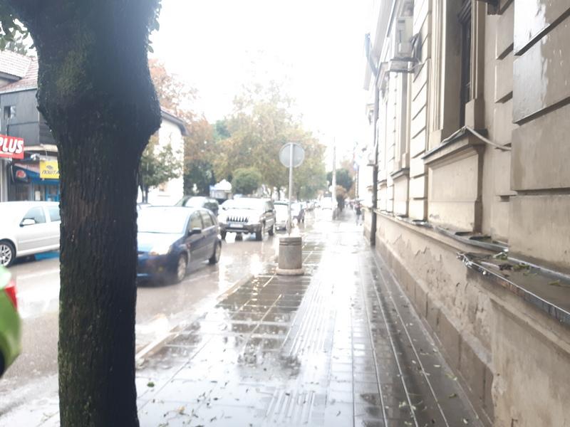 Tri ulice sutra bez vode u centru Leskovca